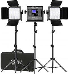 Набор постоянного LED видеосвета GVM Great Video Maker 800D-RGB (3200-5600K) х3 (800D-RGB-3L)