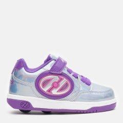 Роликовые кроссовки Heelys Plusx2 Lighted HE100012 30 17 см Silver/Purple/Pink (889642818644)