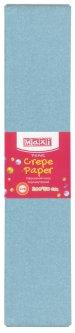 Набор гофрированной бумаги Maxi 20% 50 х 200 см 10 шт Перламутровой Голубой (MX61618-07)