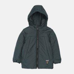 Демисезонная куртка Одягайко 22638 98 см Зеленая (ROZ6400141942)