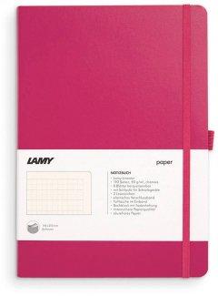 Записная книга Lamy A5 192 страницы в линейку Розовая Мягкая (4014519721123)