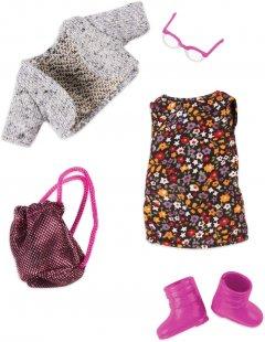 Набор одежды для куклы Lori Платье с цветами (LO30021Z)