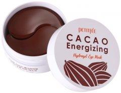 Гидрогелевые патчи для глаз Petitfee Cacao Energizing Hydrogel Eye Mask Какао 60 шт (8809508850696)