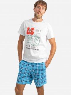 Комплект (футболка + шорты) ROZA 210201 S Белый (4824005626166)