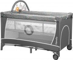 Манеж-кровать Lionelo Flower grey scandi (LO.FL02)
