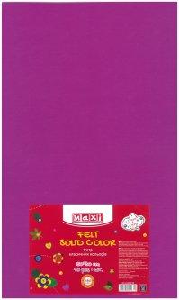 Набор фетра Maxi 50 х 30 см Листового Сливового 10 шт (MX61623-23)