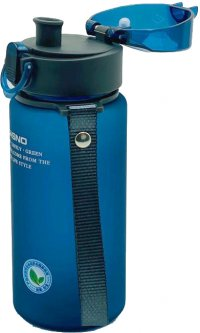 Бутылка для воды Casno KXN-1115 560 мл Синяя (KXN-1115_Blue)