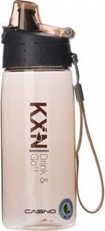 Бутылка для воды Casno KXN-1179 580 мл Оранжевая (KXN-1179_Orange)