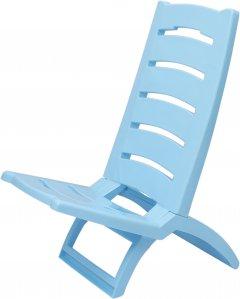 Кресло-шезлонг Adriatic из пластика 37.5 х 65 см Голубой (8002936289438)