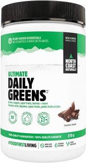 Натуральная добавка North Coast Naturals NCN Daily Greens 270 г Шоколад (627933101675)
