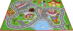 Игровой набор Bb Junior Ferrari Junior City Playmat (16-85007)