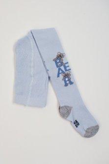 Колготки Pompea Kids Sogno 86-92 см Світло-блакитні