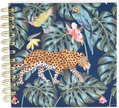 Блокнот Home & Styling Collection 16х16 см 300 листов (MC1001490_green leopard)