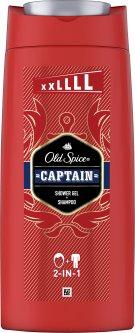 Гель для душа и шампунь Old Spice 2-в-1 Captain 675 мл (8006540280140)