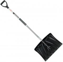 Лопата для уборки снега Intertool 46 x 34 см с Z-образной ручкой 108 см (FT-2023)