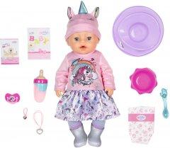 Кукла Baby Born серии Нежные объятия Очаровательный единорог 43 см с аксессуарами (831311)