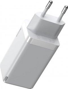 Зарядное устройство Baseus GaN2 Pro QC 2C+U 65W EU White (CCGAN2P-B02)