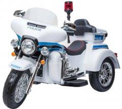 Электротрицикл Kidsauto Police SMT-111 white (6903351801118)