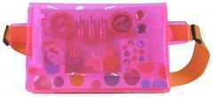 Косметический набор Markwins POP пояс визажиста Neon Pink (1539015E)