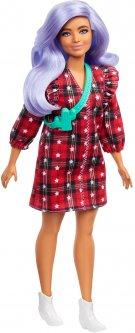 Кукла Barbie Модница в клетчатом платье (GRB49)