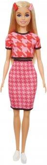 Кукла Barbie Модница в костюме в ломаную клетку (GRB59)