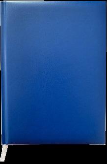Ежедневник недатированный Buromax Master А5 из бумвинила на 288 страниц Синий (BM.2003-02)