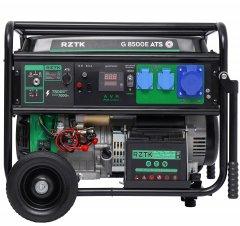 Генератор бензиновый RZTK G 8500E ATS