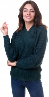 Пуловер Bakhur 3186 44 Бутылочный (2000000038681)
