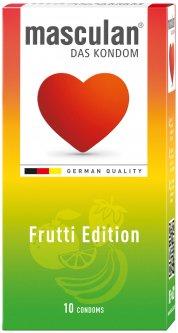Презервативы Masculan Frutti Edition 10 шт (4019042001100)