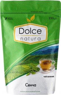 Чай китайский зеленый листовой Dolce Natura Сенча 250 г (4820093482561)
