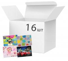 Набор альбомов для рисования Апельсин 36 листов х 16 шт (АМ-ГП-120-36)