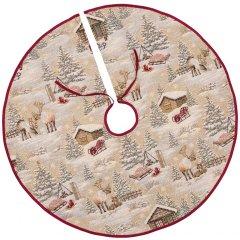 Покрывало под елку Limaso новогоднее гобеленовое EDEN970-SD 90 см (ROZ6400053567)