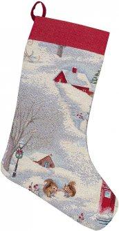 Носок для подарков Limaso гобеленовый EDEN972-CH 25х37 (ROZ6400053586)
