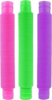 Развивающий сенсорный набор Pop Tops гофрированные трубки 3 шт (2000992409940)