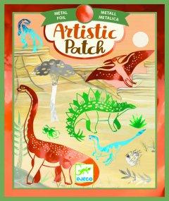 Художественные патчи Djeco Металлизированные Динозавры (DJ09463) (3070900094635)