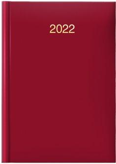 Датированный ежедневник Brunnen Стандарт Miradur trend красный А5 336 страниц (73-795 64 202)
