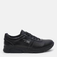 Кожаные кроссовки Konors 8739/3/7-1 38 25.4 см Черные (KN2000000447346)