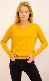 Пуловер Remix 32 One Size Горчичный (2950006449229)