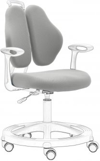 Чехол для кресла FunDesk Vetta II Chair cover Grey (Vetta II Chair cover Grey)