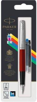 Ручка перьевая Parker Jotter 17 Standart Red CT FP M блистер (15 716)
