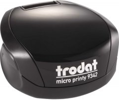 Оснастка для печати Trodat Micro Printy 9342 карманная диаметр 42 мм Черный корпус (190084589215)