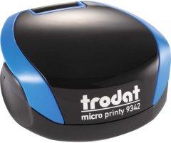 Оснастка для печати Trodat Micro Printy 9342 карманная диаметр 42 мм Синий корпус (190084589437)