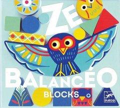 Набор деревянных геометрических фигур Djeco Ze Balanceo (DJ06433) (3070900064331)