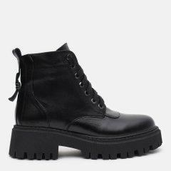 Ботинки LeoModa 21219/1/2 39 (25 см) Черные (2000000001050)
