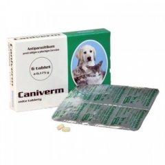 Таблетка Bioveta Каніверм 0,175 від глистів для цуценят та кошенят 6 табл. (8594004855534)