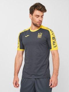 Футболка JOMA AT102362B159 M Серо-желтая (8424309636913)