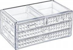 Органайзер для косметики трьохуровневый Boxup Diamond FT-022 (8681944170121)