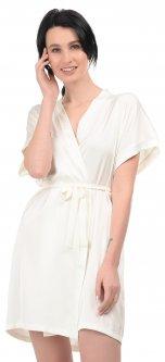 Халат BARWA garments 0242 S/L Молочный (2110002429124)