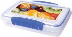 Емкость для хранения сыпучих продуктов Sistema Klip It Blue 380 мл (1550)