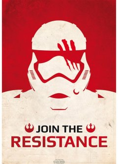 """Постер ABYstyle Star Wars """"Join The Resistance"""" 98x68 см (ABYDCO381)"""